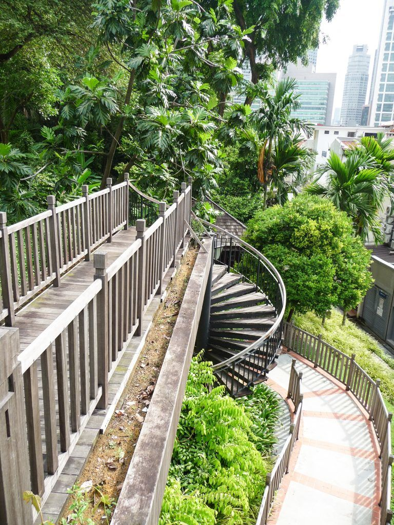 singapore chinatown walking tour ann siang hill park