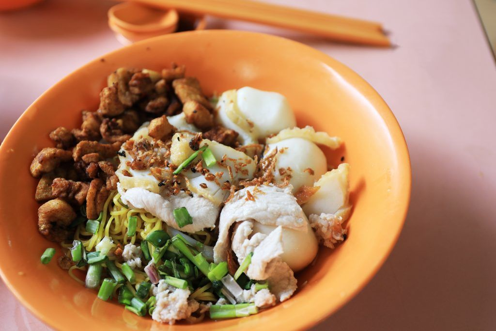 singapore chinatown food tour bak chor mee