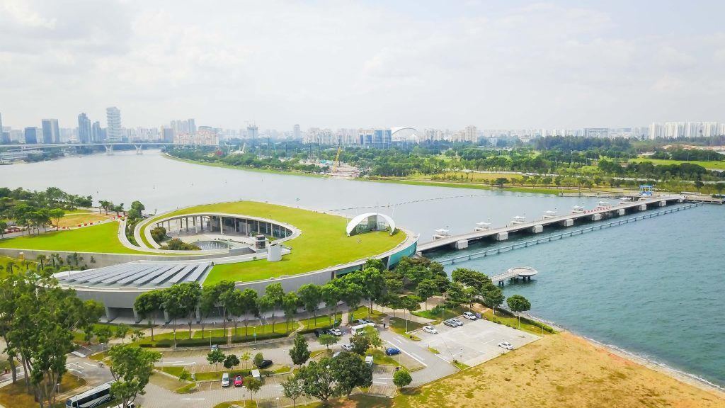 singapore bike tours marina barrage