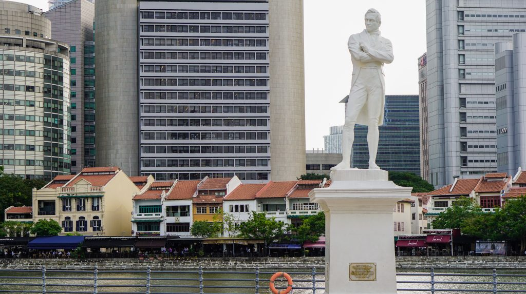 singapore raffles chinatown interesting facts